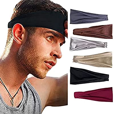 Amazon - Save 80%: Women's No Slip Headband, Sports Hair Band Elastic Wide Headb…