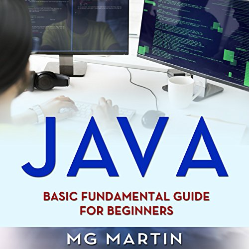 Java audiobook cover art