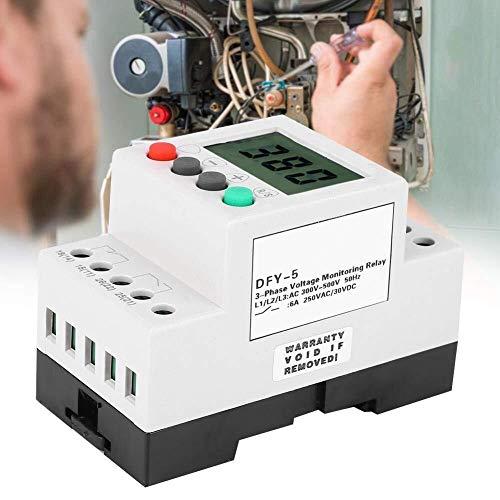 GUOCAO 3 Fase de tensión Control de Secuencia de relé de protección de tensión del relé Bajo sobre Voltaje Protector - DFY-5...