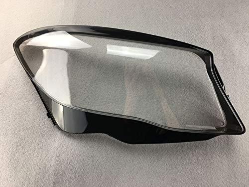 Qgg Auto Lampshade Scheinwerferblenden Objektiv Glas Lampenschutz Scheinwerfer Kunststoff Schutz Objektiv-Schutz Lampe Objektiv Shell Cover Fit for Mercedes-Benz GLA 2015 FF Scheinwerferabdeckung