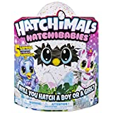 Hatchimals 6046468 Hatchibabies Uniques Couleurs Assorties - Version Allemande