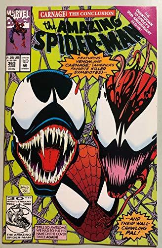 Amazing Spider-Man (1963) #363 NM (9.4) 3rd app Carnage Venom Cover