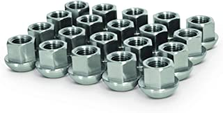 20 Pcs Ball Seat Open End Lug Nuts 14x1.5 Replacement For Porsche Wheels