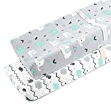 Stretchy Changing Pad Covers for Boys Girls ,2 Pack Jersey...