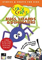 Crazy Crafts: Bugs Lizards & Dinosaurs [DVD] [Import]