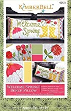 Welcome Spring Bench Pillow Pattern KD173