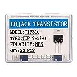 BOJACK TIP31C NPN 3 A 100 V Transistor di potenza epitassiale al silicio TIP31 3 amp 100 V...