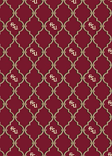 Florida State FSU 100% Cotton Fabric-Trellis Design-Newest Design