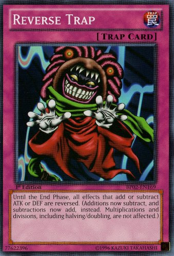 YU-GI-OH! - Reverse Trap (BP02-EN169) - Battle Pack 2: War of The Giants - 1st Edition - Common
