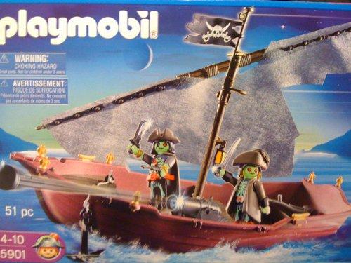 Playmobil - 5901 - Piraten - Geisterschiff / Schaluppe - 51 tlg.