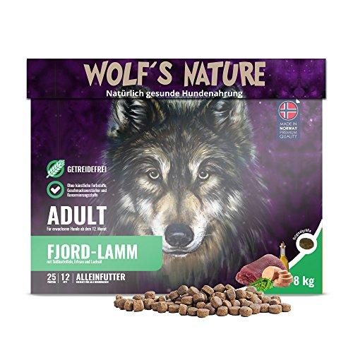 Wolf's Nature - Agneau adulte - 8 kg.