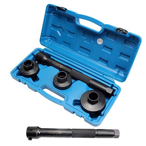 CCLIFE Spurstangengelenk Werkzeug Axialgelenk Spurstangen Schlüssel Abzieher Austausch Spurstangenkopf 30-35 35-40 40-45mm