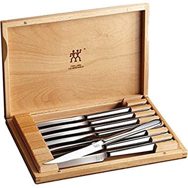 Zwilling® J.A. Henckels Contemporary 8-Piece Stainless Steel Steak Knife Set in Presentation Box