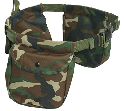 Outdoor Connection Al Aire Libre Conexión Valor Juego Bolsa, Unisex, Camuflaje