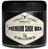 Schuhcreme Schuhwachs 250ml farblos mit Bienenwachs & Avocado-Öl | Imprägnierwachs für Intensive Schuhpflege & Lederpflege | Schuhreinigung & Schuhe pflegen mit Premium...