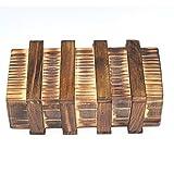 Chonor Cubo Rompecabezas 3D de Madera del Enigma Juego Puzle #112 - Caja Mágica de Madera con Cajón Secreto Seguro - Clásica de Cerradura de Brain Teaser Puzzle IQ Juguetes para Niños y Adultos