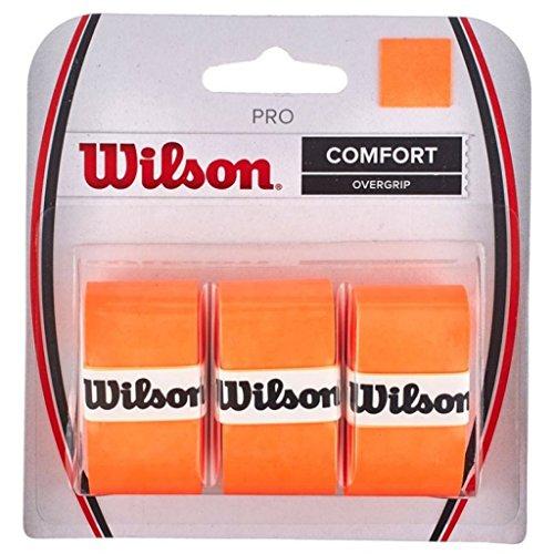 Wilson Pro Overgrip Comfort - 3 Pack - Burn Orange
