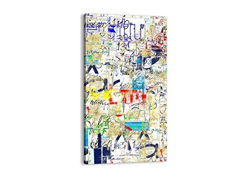 ARTTOR Cuadros Modernos Baratos - Lienzos Decorativos - Cuadros Decoracion Salon - Tríptico De Pared - Muchos Tamaños y Varios Temas Gráficos - PA55x100-2907