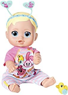 Baby Born 826164 Funny Faces-Bouncing Baby an Interactive Doll with Functions, 36 cm