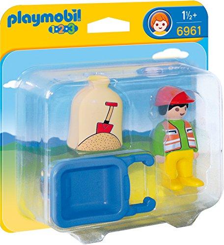 Playmobil 6961 - Bauarbeiter mit Schubkarre