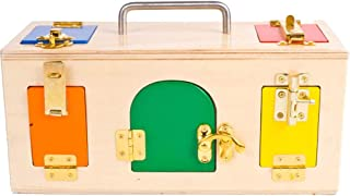 Wooden Montessori Toys, Lock Box Kindergarten Teaching Aids, Early Childhood Education Educational Toys