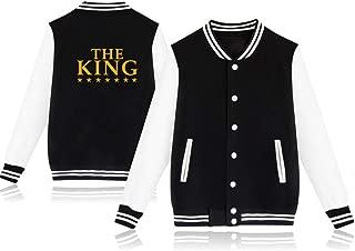King & Queen Crown Matching Couple Jackets Sweaters Sweatshirt Baseball Clothing