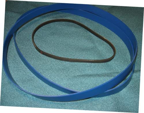 1 Set Replacement Ultra Duty Band Saw and Drive Belt Compatible