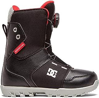 DC Scout BOA Snowboard Boots Kid's Sz 6 Black