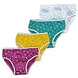 Fontana Calze Set da 12 Paia di Slip Bambina in Cotone 100% con Filato e Colori anallergici e Taglie dalla 2 Anni alla 8. Taglia 7 Anni