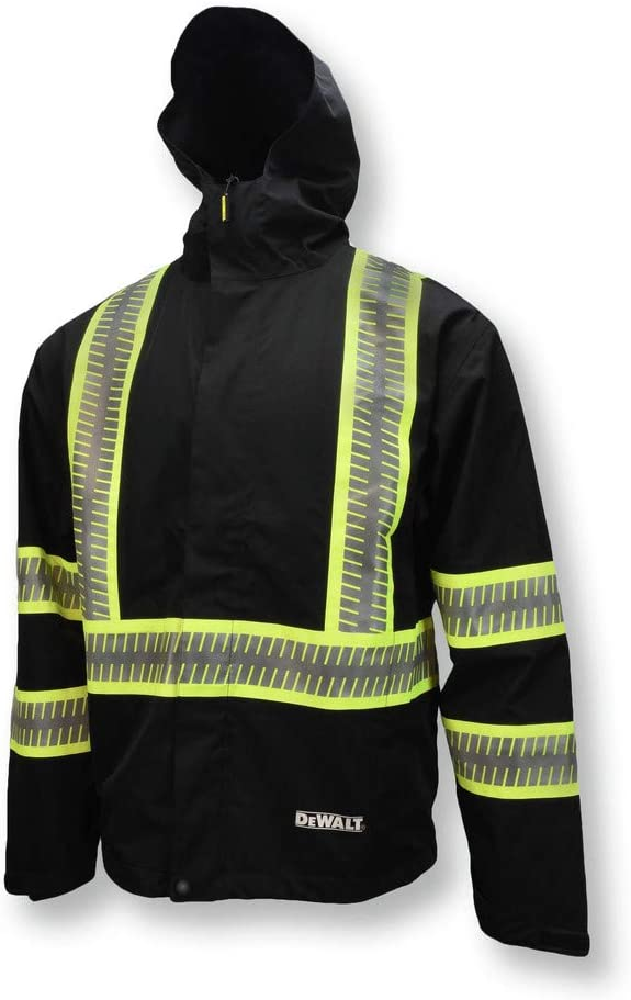 DEWALT DRW11 Waterproof Animer and price revision Lightweight Packable L Raincoat Credence - Size
