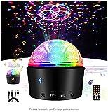 Boule Disco, Amuster Lumière Soirée Lampe de Scène Éclairage de Discothèque Projecteur Effet Spot Stade...