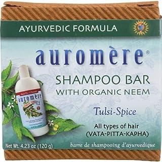 オーロメア (Auromere) アーユルヴェーダ シャンプーバー 120g 6+1個 セット