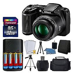 Nikon L340 COOLPIX- Best Starter Kit