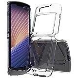 Schutzhülle für Motorola Moto Razr 5G, kristallklar, stoßdämpfend, TPU-Hülle (transparent), kompatibel mit Moto Razr