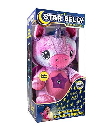 As Seen on TV Star Belly Dream Lites - Pink & Purple Unicorn