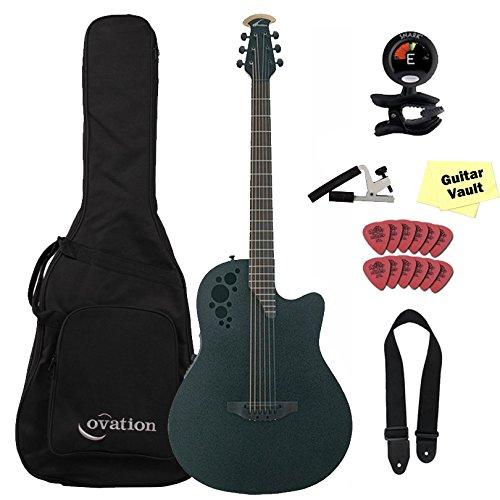 Ovation DS778TX-5 Elite TX - Guitarra barítona acústica de ...