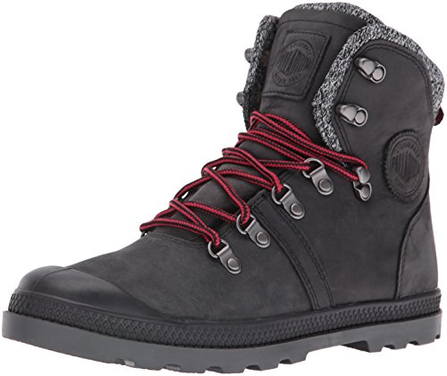 Palladium Damen Pallabrouse Hikr Lp Combat Boots, Black (Blk/Red/Castlerock), 37