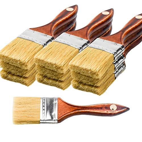 20PCS Chip Brushes Bulk Paint Brushes 2inch for Paint,...