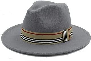 2019 Good Hat For Men Women Winter Fedora With Cloth Belt Wide Brim Hat Casual Wild Church Fascinator Hat Panama Size 56-58CM