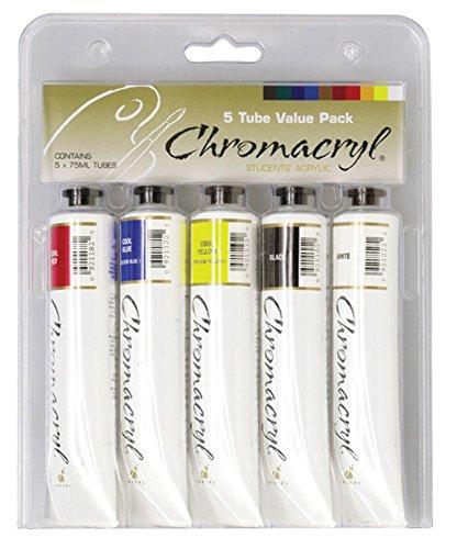 クロマ クロマクリル クールカラー5色セット 12047011