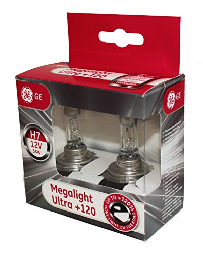 General Electric 58520snu H7 12 V 55 W PX26d Megalight Ultra + 120% Double Box