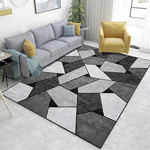 Teppich Moderne Wohnzimmer Schlafzimmer Sofa Couchtisch Matte Zimmer Bodenmatte leicht zu reinigen kann in der Maschine gewaschen Werden (160cmX230cm)