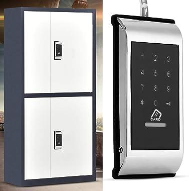 Touch keypad Lock, ecofriendly Digital Code Locker, Locker Code Lock, zinc Alloy Gym for Home Sauna(Silver)