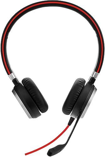 Jabra Evolve 40 UC Stereo USB-C Wired Headset