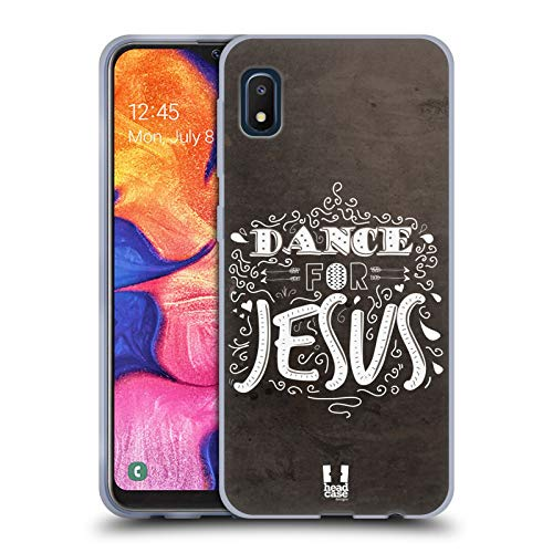 Head Case Designs Dance for Jesus All About God Soft Gel Case Compatible with Samsung Galaxy A10e (2019)
