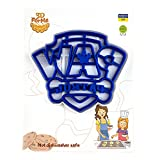 Cookie Cutter by 3DForme, 4 inch PAW Patrol Baking Cake Fondant Frame Mold for Buscuit, Set 2 Piece, Color May Vary