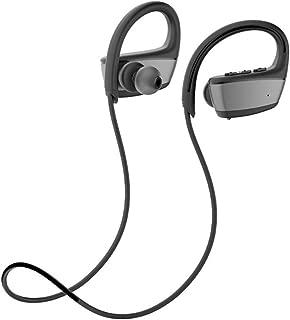 shiYsRL Wireless Bluetooth Earphone Ipx7 Waterproof Headphones Swimming Sports Bluetooth Headset Earphone One Size Black