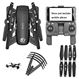 BD.Y Drone,5G FPV RC Drone, 4K HD Camera Live Broadcast, Altitude Control, Mobile Control modulere Extra Battery, Headless Mode for Beginners Children