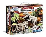 Clementoni archeofun T-Rex Glow in The Dark Kit Scientifico