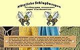 VGO... Schlupfwespen  5 Kärtchen mit je 2000 Schlupfwespen zur Bekämpfung von Kleidermotten Einzellieferung